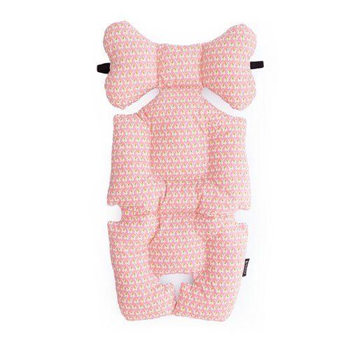 pram liner pink elephant image