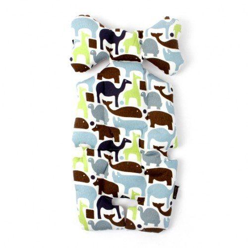 blue animals stroller liner image