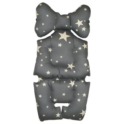 Pram Liner Storm and White Stars Image