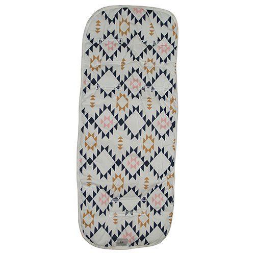 Aztec Pink Pram Liner Image
