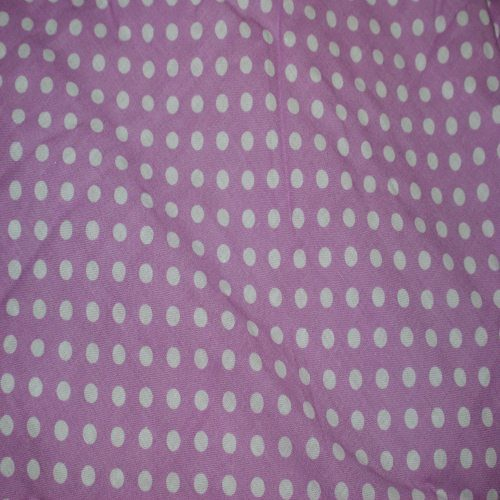 Lilac Sherbet Pram Liner Close Up Image