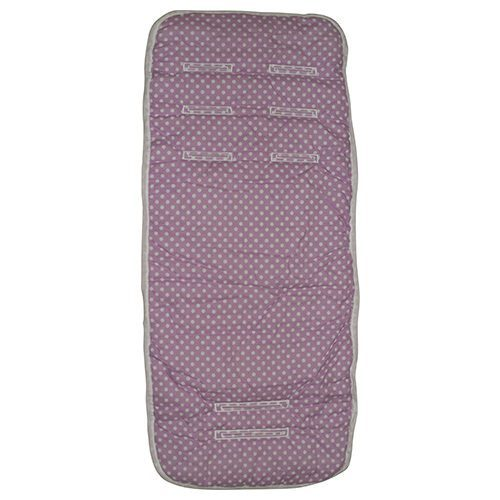 Lilac Sherbet Pram Liner