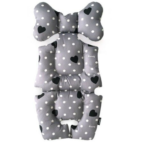 sweet heart grey pram liners image