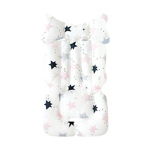 pram liner fairy stars pink image