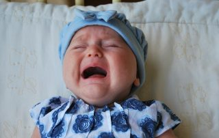 crying baby image