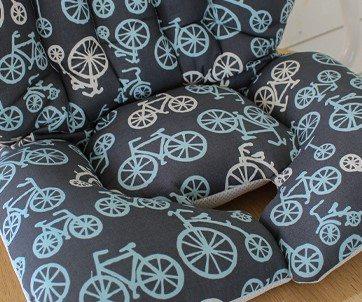 pram liner seat bicycle image