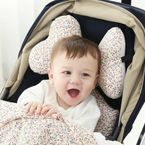 pram liner baby blossom image
